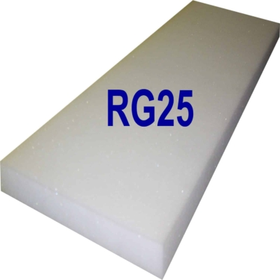 Schaumstoffplatte RG25 mittel-fest