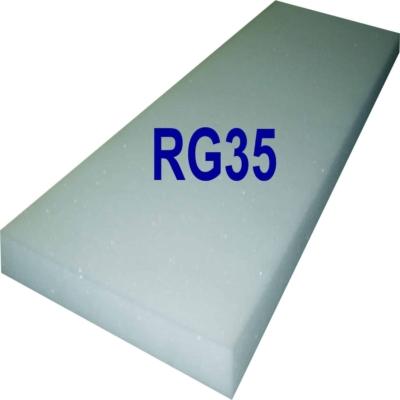 Schaumstoffplatte RG35 mittel-fest (Standard)
