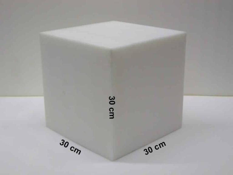 Schaumstoffwürfel 30x30x30 cm