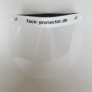 Gesichtsvisier (face-protector)